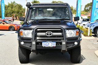2019 Toyota Landcruiser VDJ79R GXL Grey 5 Speed Manual Cab Chassis
