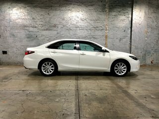 2015 Toyota Camry ASV50R Atara S White 6 Speed Sports Automatic Sedan