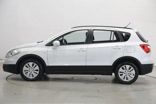 2014 Suzuki S-Cross JY GL White 7 Speed Constant Variable Hatchback.
