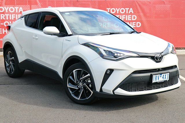 Pre-Owned Toyota C-HR NGX10R Koba S-CVT 2WD South Morang, 2020 Toyota C-HR NGX10R Koba S-CVT 2WD Crystal Pearl 7 Speed Constant Variable Wagon