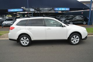 2012 Subaru Outback MY12 2.0D AWD White 6 Speed Manual Wagon.