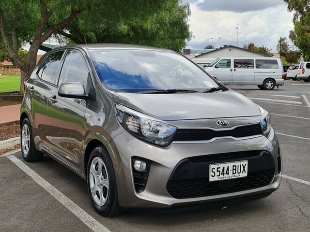Used Kia Picanto JA MY18 S Nailsworth, 2018 Kia Picanto JA MY18 S Grey 4 Speed Automatic Hatchback