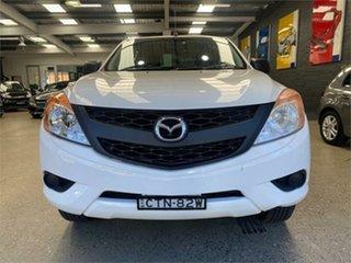 2014 Mazda BT-50 UP0YF1 GT White Sports Automatic Utility.
