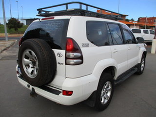 2007 Toyota Landcruiser Prado KDJ120 GX (4x4) White 6 Speed Manual Wagon