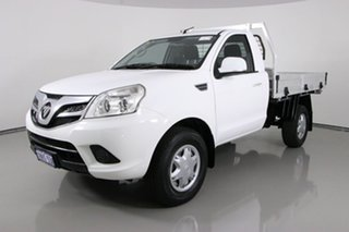 2015 Foton Tunland P201 MY15 (4x2) White 5 Speed Manual Cab Chassis Tray.