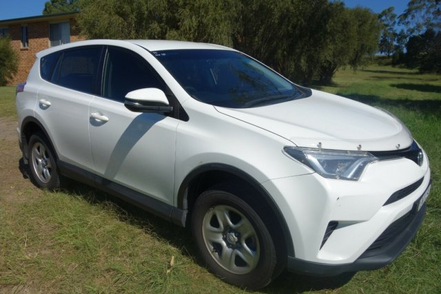 Used Toyota RAV4 ZSA42R GX 2WD East Maitland, 2016 Toyota RAV4 ZSA42R GX 2WD White 7 Speed Constant Variable Wagon