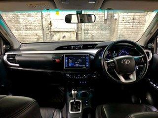 2017 Toyota Hilux GUN126R SR5 Double Cab Black 6 Speed Sports Automatic Utility