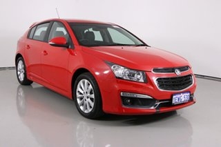 2015 Holden Cruze JH MY15 SRi Red 6 Speed Automatic Hatchback.