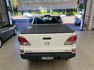 2014 Mazda BT-50 UP0YF1 GT White Sports Automatic Utility