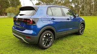2020 Volkswagen T-Cross C1 MY20 85TSI DSG FWD Life Reef Blue Metallic/black Cloth 7 Speed