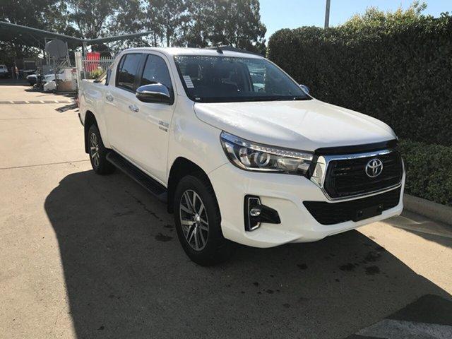 Used Toyota Hilux GUN126R SR5 Double Cab Acacia Ridge, 2018 Toyota Hilux GUN126R SR5 Double Cab Glacier 6 speed Automatic Utility