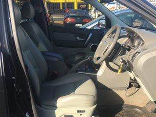 2007 Ford Territory SY Ghia Black 4 Speed Sports Automatic Wagon