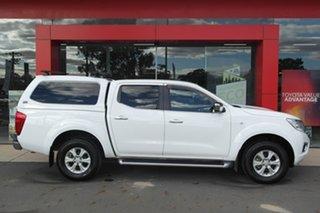 2017 Nissan Navara D23 S2 ST 4x2 White 7 Speed Sports Automatic Utility.