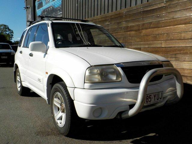 Used Suzuki Grand Vitara SQ625 S2 Sport Labrador, 2001 Suzuki Grand Vitara SQ625 S2 Sport White 5 Speed Manual Wagon