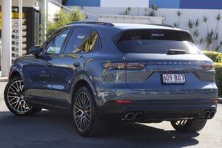 2018 Porsche Cayenne 9YA MY19 S Tiptronic Moonlight Blue 8 Speed Sports Automatic Wagon.