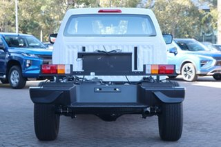 2021 Isuzu D-MAX RG MY21 SX 4x2 High Ride Mineral White 6 Speed Sports Automatic Cab Chassis