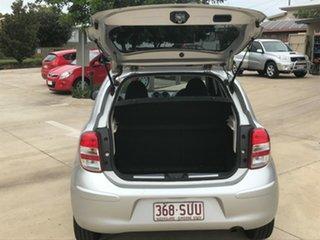 2010 Nissan Micra K13 ST-L Silver 4 Speed Automatic Hatchback