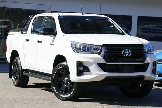 Used Toyota Hilux GUN126R Rogue Double Cab Homebush, 2018 Toyota Hilux GUN126R Rogue Double Cab White 6 Speed Sports Automatic Utility