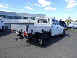 2021 Mitsubishi Triton MR MY21 GLX Club Cab ADAS White 6 Speed Automatic Cab Chassis
