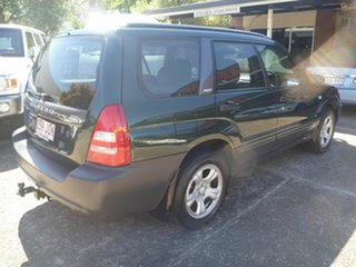 2002 Subaru Forester 79V MY03 X AWD Green 4 Speed Automatic Wagon