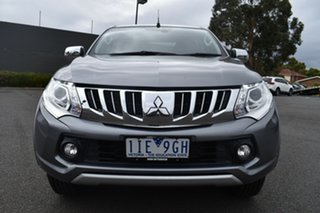 2016 Mitsubishi Triton MQ MY16 Exceed Double Cab Grey 5 Speed Sports Automatic Utility