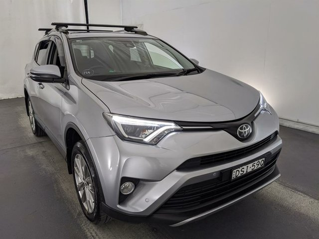 Used Toyota RAV4 ASA44R Cruiser AWD Maryville, 2017 Toyota RAV4 ASA44R Cruiser AWD Silver 6 Speed Sports Automatic Wagon