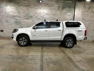 2017 Holden Colorado RG MY18 LTZ Pickup Crew Cab White 6 Speed Manual Utility
