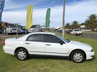 2003 Mitsubishi Magna TJ Series 2 Executive White 4 Speed Sports Automatic Sedan.