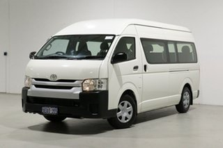 2014 Toyota HiAce KDH223R MY14 Commuter White 4 Speed Automatic Bus.