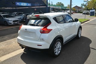 2014 Nissan Juke F15 TI-S (AWD) White Continuous Variable Wagon.
