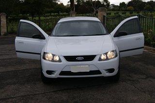 2008 Ford Falcon BF MkII RTV (LPG) White 4 Speed Auto Seq Sportshift Utility