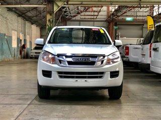 2014 Isuzu D-MAX MY14 SX Crew Cab 4x2 White 5 Speed Manual Utility.