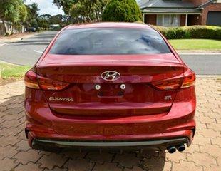 2017 Hyundai Elantra AD MY17 SR DCT Turbo Red 7 Speed Sports Automatic Dual Clutch Sedan