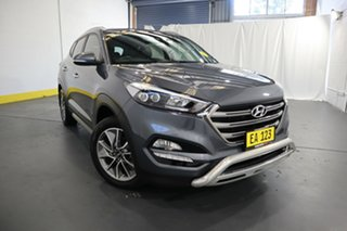 2017 Hyundai Tucson TL2 MY18 Elite D-CT AWD Grey 7 Speed Sports Automatic Dual Clutch Wagon.