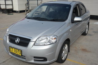 2010 Holden Barina TK MY10 Silver 4 Speed Automatic Sedan.