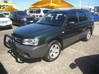 2002 Subaru Forester 79V MY03 X AWD Green 4 Speed Automatic Wagon.