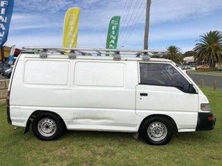 2012 Mitsubishi Express SJ MY12 SWB White 5 Speed Manual Van.