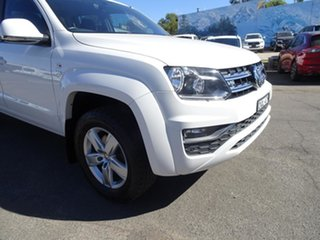2017 Volkswagen Amarok 2H MY18 TDI550 4MOTION Perm Sportline Candy White 8 Speed Automatic Utility