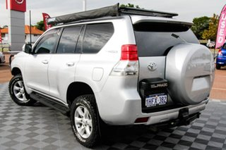 2013 Toyota Landcruiser Prado KDJ150R GXL Silver 5 Speed Sports Automatic Wagon.