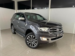2018 Ford Everest UA II 2019.00MY Titanium Grey 10 Speed Sports Automatic SUV.