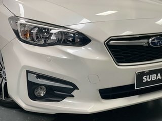 2019 Subaru Impreza G5 MY19 2.0i-L CVT AWD White 7 Speed Constant Variable Hatchback.