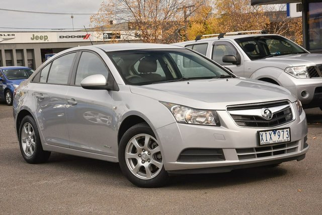 Used Holden Cruze JG CD Nunawading, 2010 Holden Cruze JG CD Silver 6 Speed Sports Automatic Sedan