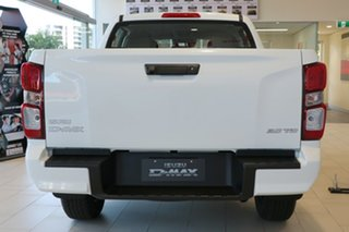 2021 Isuzu D-MAX RG MY21 SX Crew Cab Mineral White 6 Speed Sports Automatic Utility