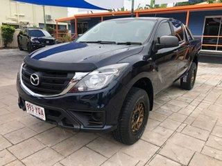 2018 Mazda BT-50 UR0YG1 XT Blue 6 Speed Sports Automatic Utility.