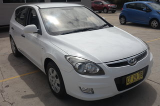 2010 Hyundai i30 FD MY10 SX White 4 Speed Automatic Hatchback.