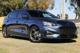 2019 Ford Focus SA 2020.25MY ST-Line Blue 8 Speed Automatic Hatchback.