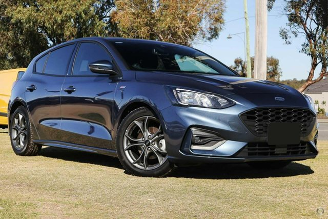 Used Ford Focus SA 2020.25MY ST-Line Pakenham, 2019 Ford Focus SA 2020.25MY ST-Line Blue 8 Speed Automatic Hatchback