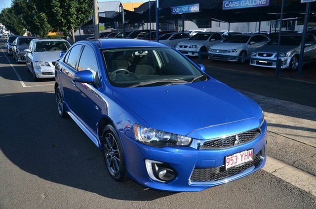 Used Mitsubishi Lancer CF MY17 ES Sport Toowoomba, 2017 Mitsubishi Lancer CF MY17 ES Sport Blue 6 Speed CVT Auto Sequential Sedan