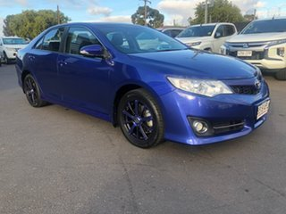 2012 Toyota Camry ASV50R Atara S Blue 6 Speed Sports Automatic Sedan.
