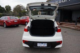 2015 Kia Rio UB MY16 S Clear White 4 Speed Sports Automatic Hatchback